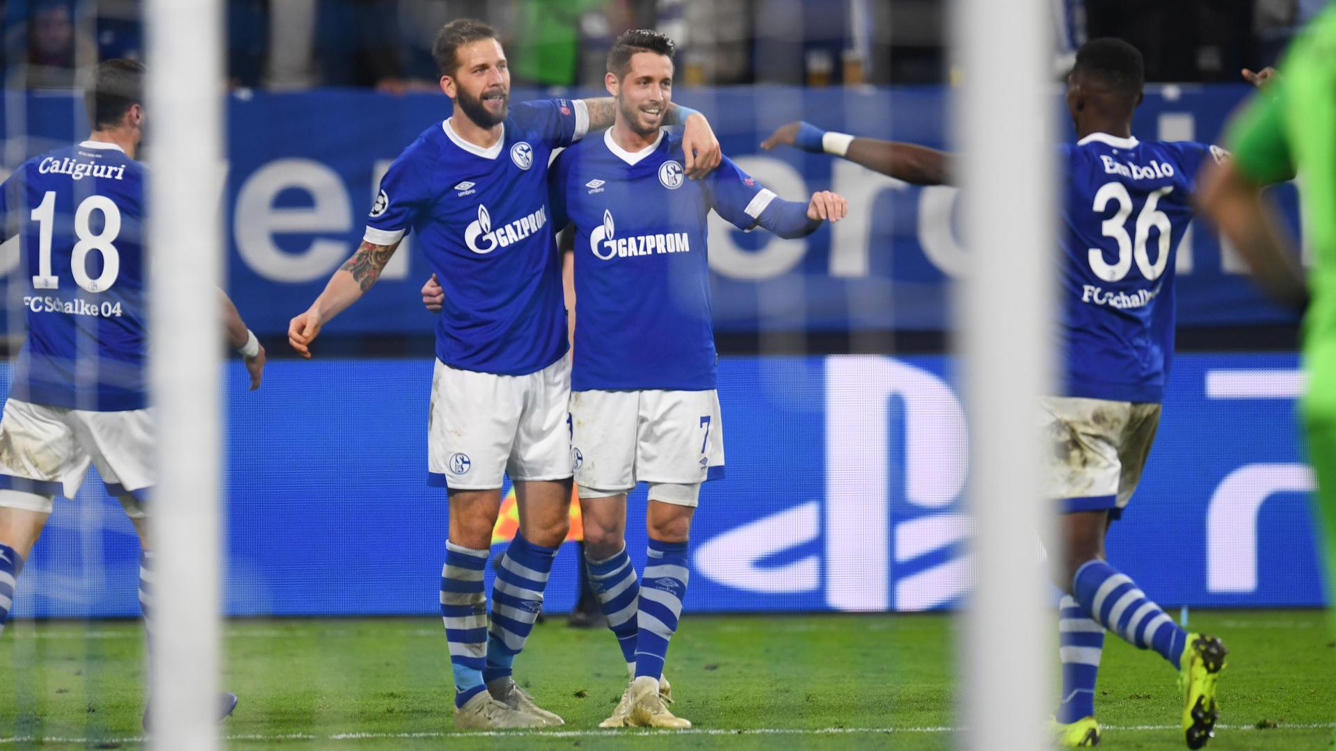FC Schalke 04 Uth Burgstaller 06112018
