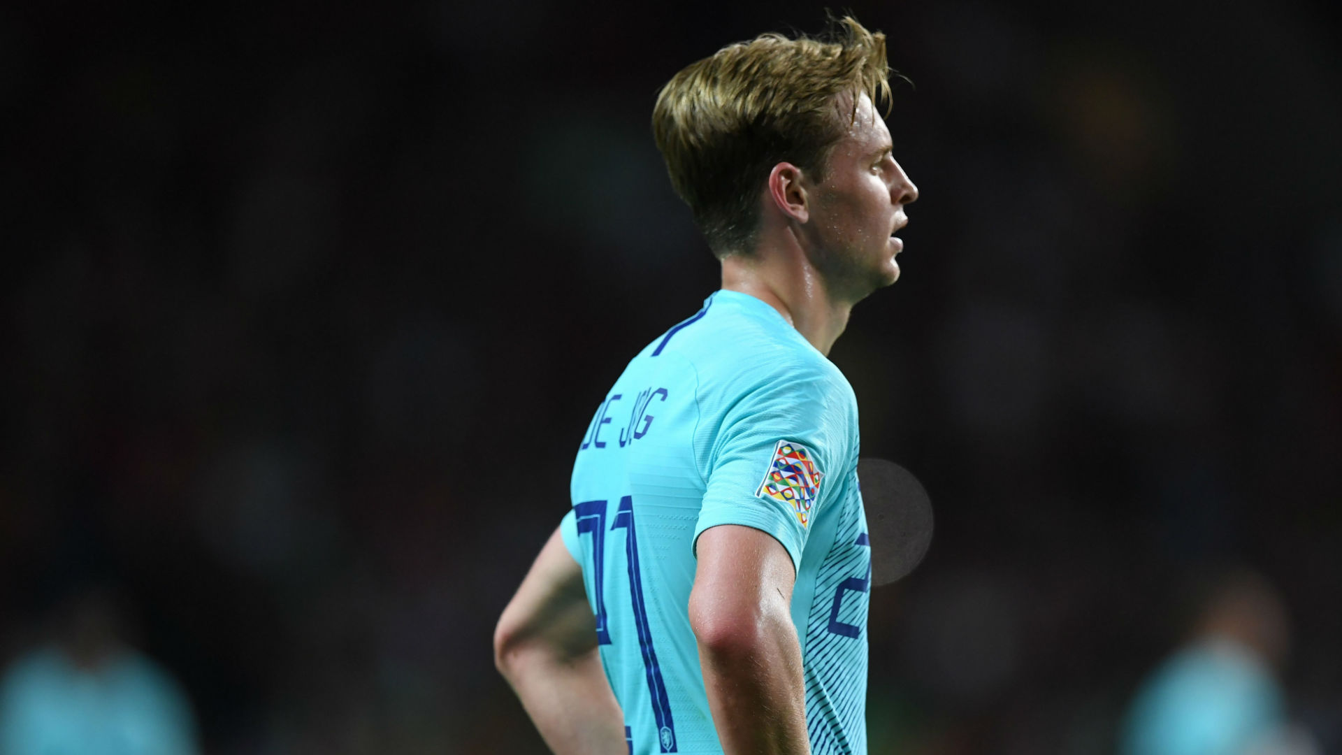 Image result for Frenkie de Jong Final UEFA Nations League