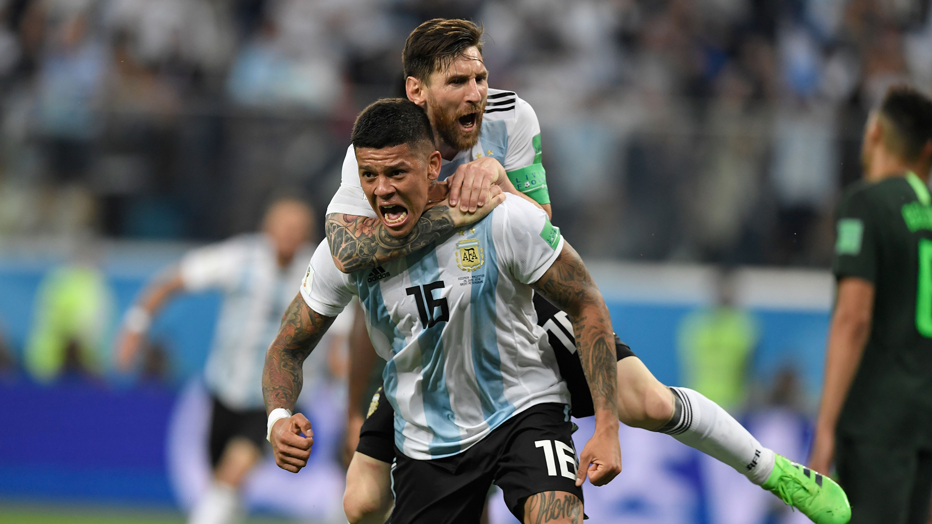 Argentina's Messi is different from Barca's Messi, says Umtiti