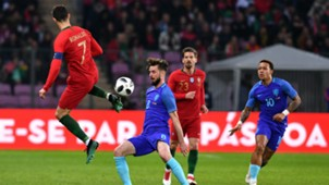Cristiano Ronaldo Netherlands Portugal Friendly