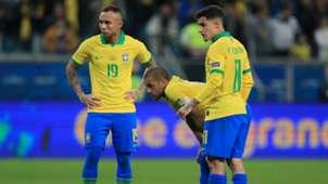 Dani Alves Everton Philippe Coutinho Brazil Copa America 2019
