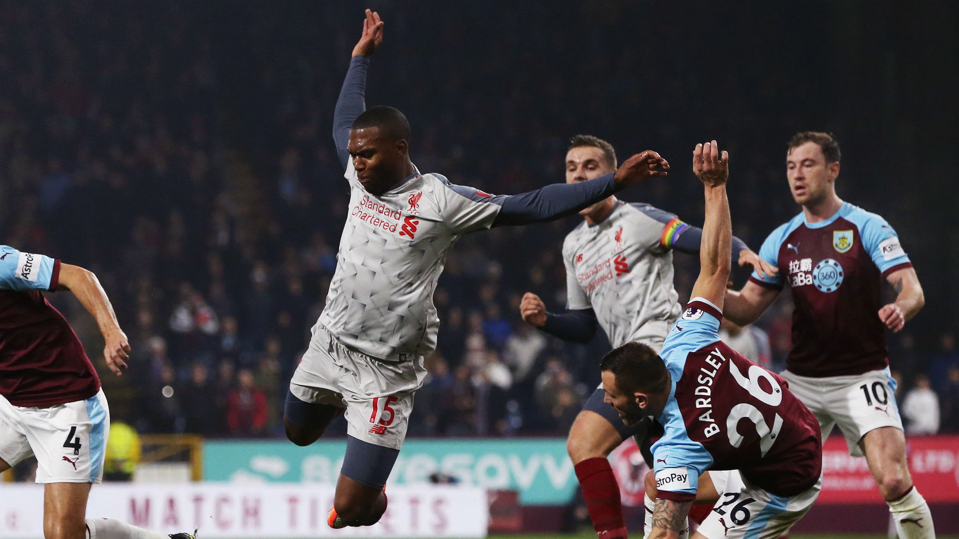 Daniel Sturridge Liverpool Burnley