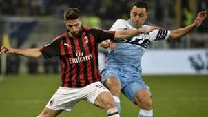 Borini Romulo Lazio Milan Coppa Italia
