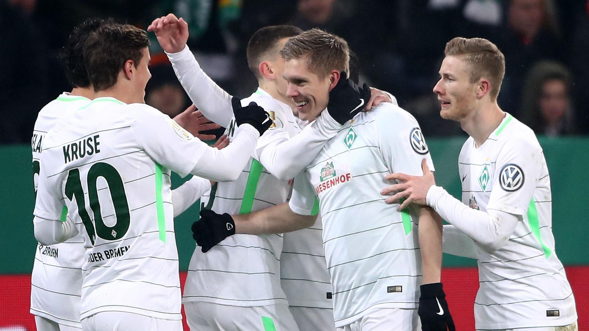 Aron Johannsson Werder Bremen celebration