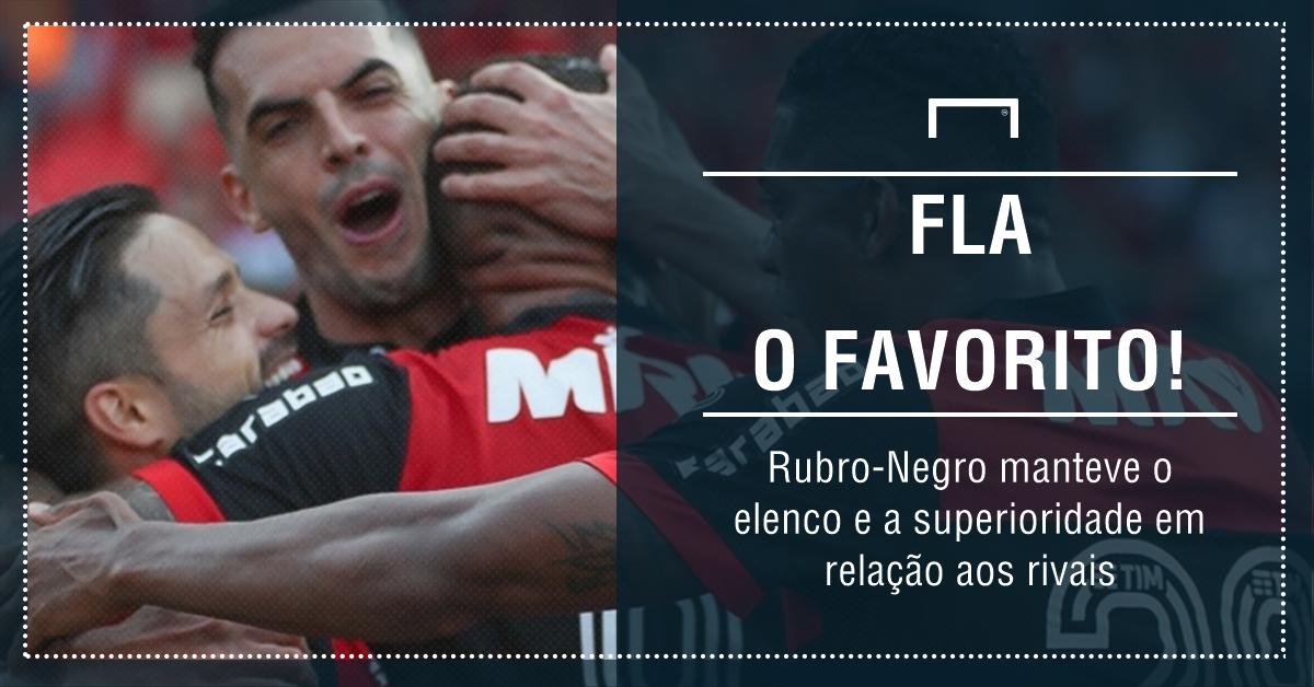 GFX Flamengo favorito Carioca