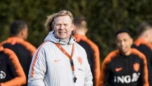 Ronald Koeman, Nederlands elftal, 03182019