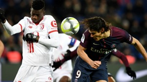 Edinson Cavani PSG Lille