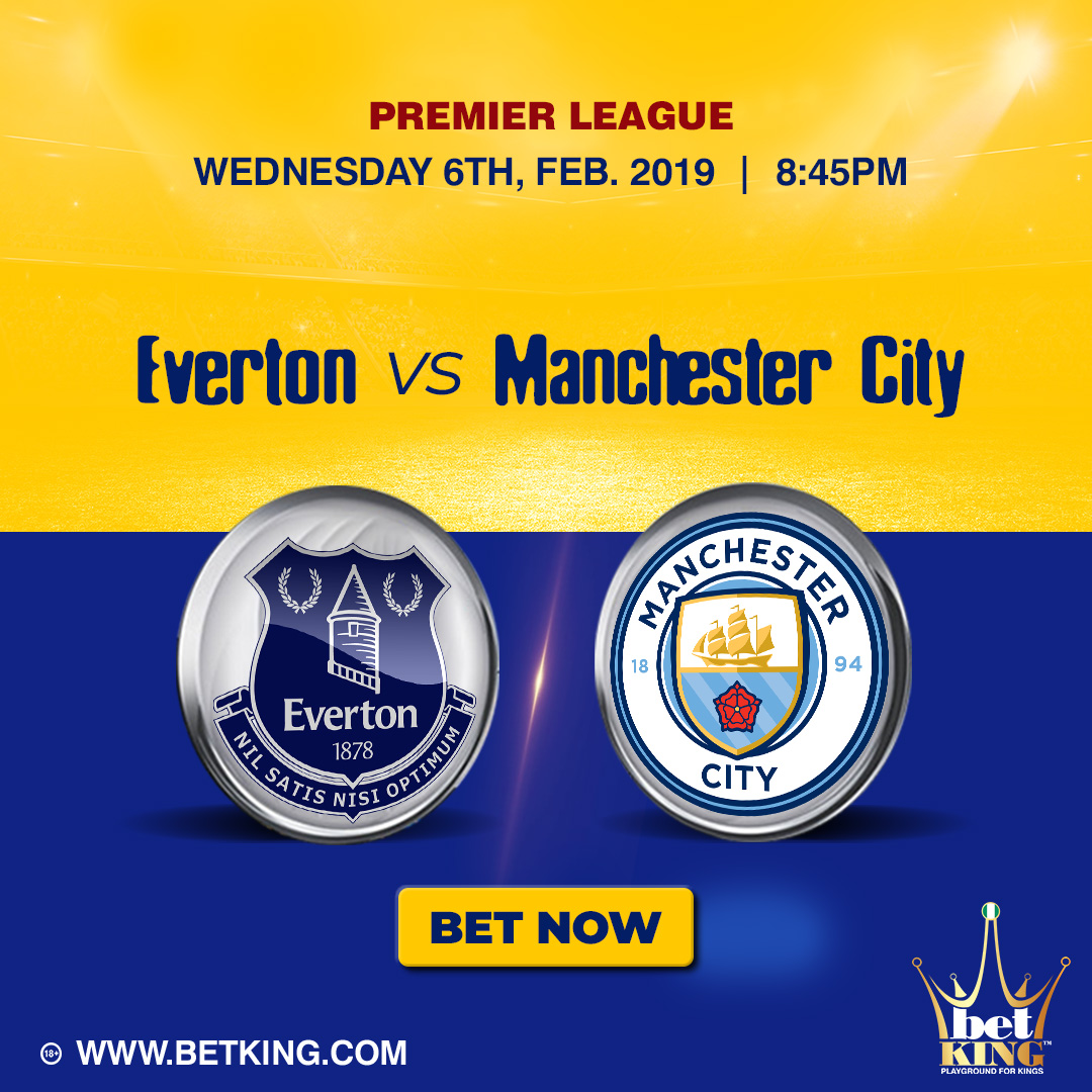 Betking Everton Manchester City