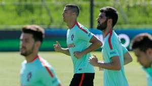 Cristiano Ronaldo Portugal training session