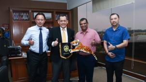 Tony Fernandes, Datuk Hamidin, FAM, PJ Rangers