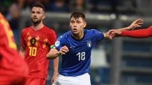 Nicolo Barella Italy Belgium
