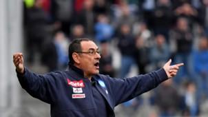 Maurizio Sarri Sassuolo Napoli