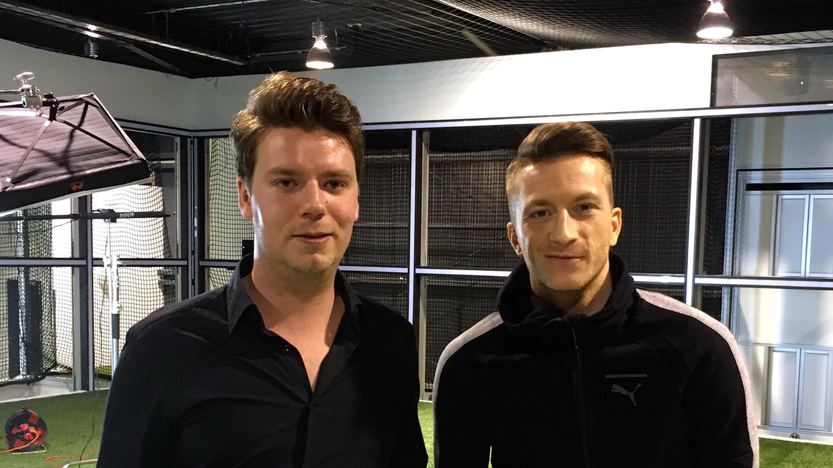 Marco Reus Borussia Dortmund Goal exclusive interview Niklas König