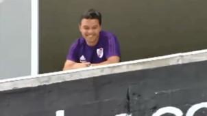 Gallardo festejo Boca River Final Copa Libertadores 11112018