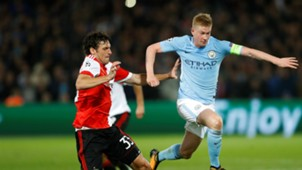 Eric Botteghin, Feyenoord - Manchester City, Champions League 09132017