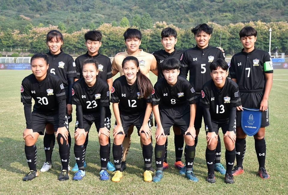 Image result for สาวไทยอยู่สายบีร่วมเนปาล, อินเดีย AFCU19 รอบคัดเลือก