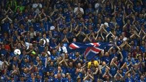 Iceland fans Euro 2016