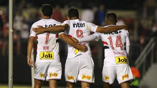 Nene Reinaldo Diego Souza Sao Paulo Rosario Central Copa Sudamericana 09052018