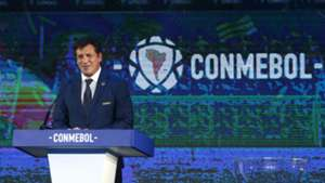 Alejandro Dominguez CONMEBOL Sorteo Copa Libertadores 2019 171218