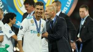 2018-06-01 Zinedine Zidane Cristiano Ronaldo