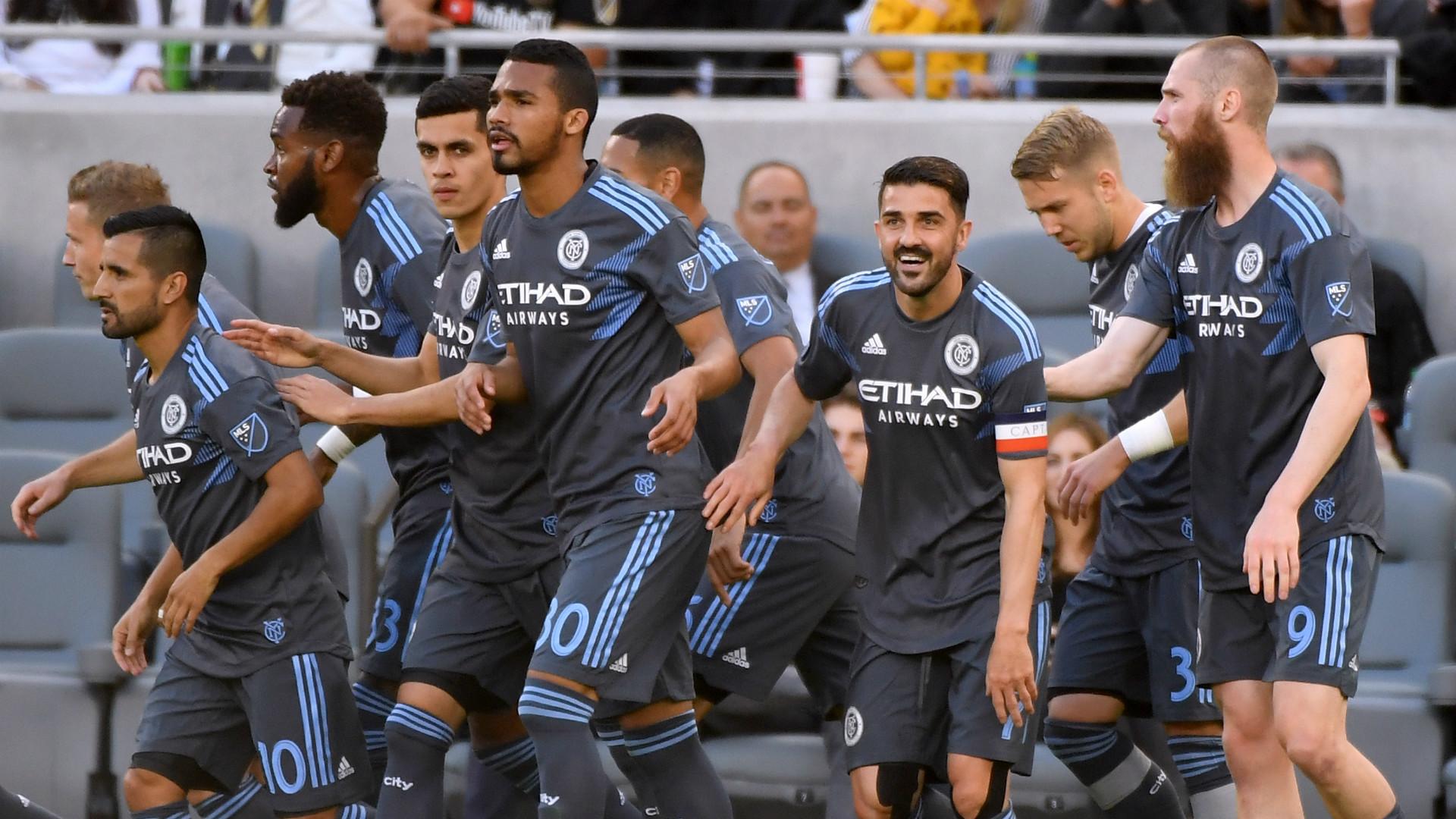 Los Angeles FC New York City FC MLS