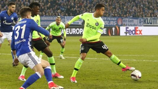 Justin Kluivert, Schalke 04 vs. Ajax, 04202017