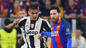 Paulo Dybala, Lionel Messi