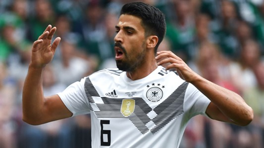 Sami Khedira Deutschland Germany Mexico WC 2018