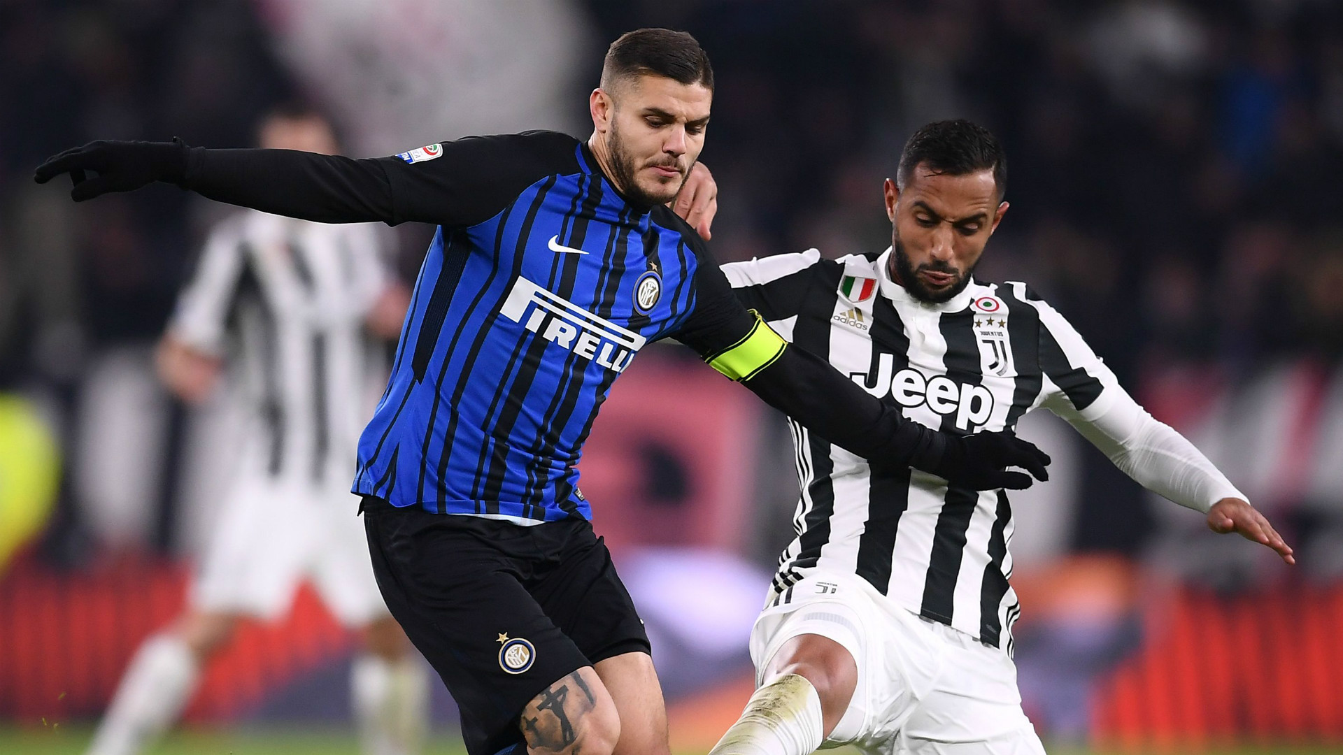 Mauro Icardi, Medhi Benatia, Juventus, Inter, Serie A, 09122017