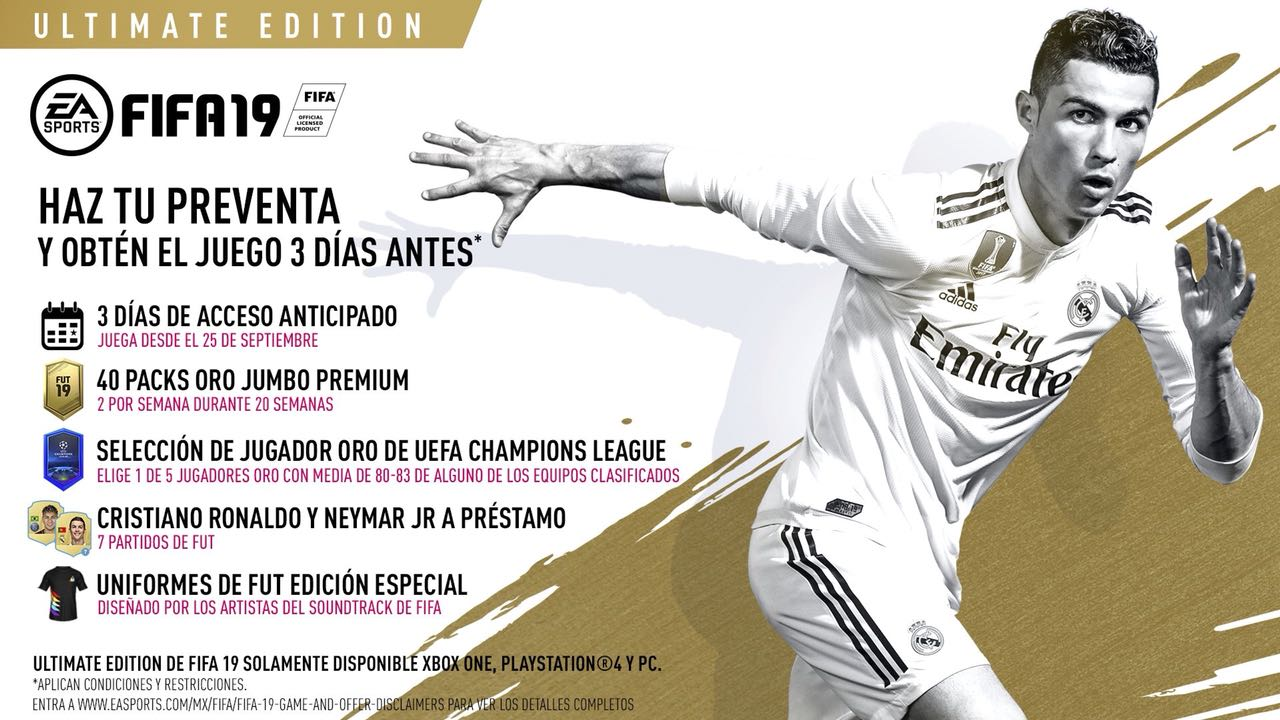 How Much Is Fifa 19 For Playstation4 Xbox One And Nintendo Switch