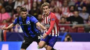 Antoine Griezmann Atletico Madrid Club Brugge