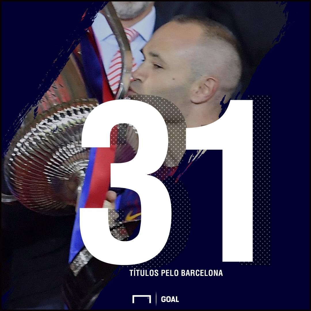 Iniesta PS - Barcelona - 26/04/2018