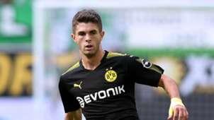 Christian Pulisic Borussia Dortmund 081917