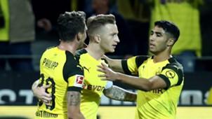 Marco Reus Max Philipp Achraf Hakimi Borussia Dortmund 26092018