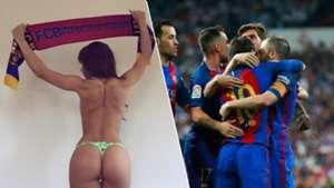 Judit benavente Fanatica Lionel Messi Barcelona