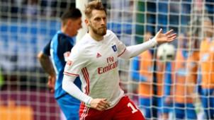 Aaron Hunt Hamburger SV Bundesliga 08042017