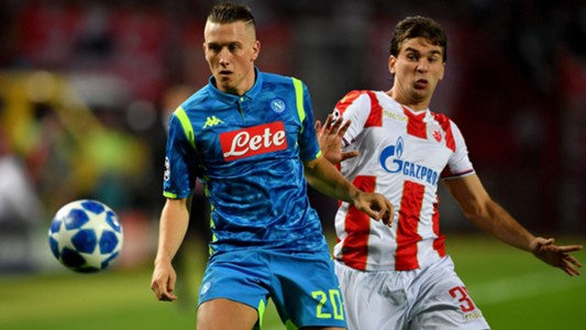 Zielinski Red Star Napoli Champions League