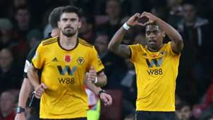Ivan Cavaleiro Arsenal vs Wolves Premier League 2018-19