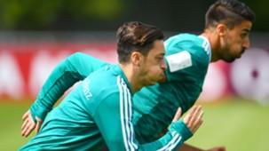 Mesut Özil Sami Khedira Germany