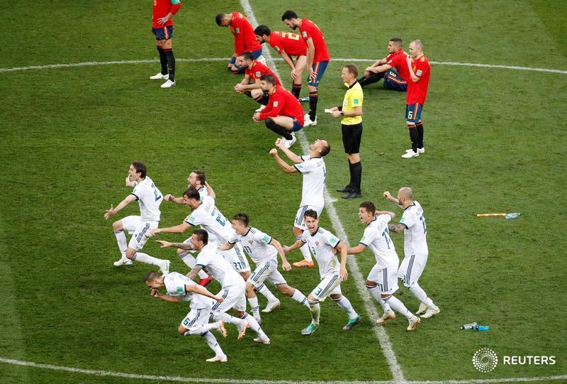 روسيا إسبانيا