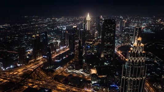 Coca Cola Dubai Night