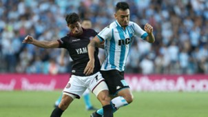 Nery Dominguez Lautaro Acosta Racing Club Lanus Superliga 16022018