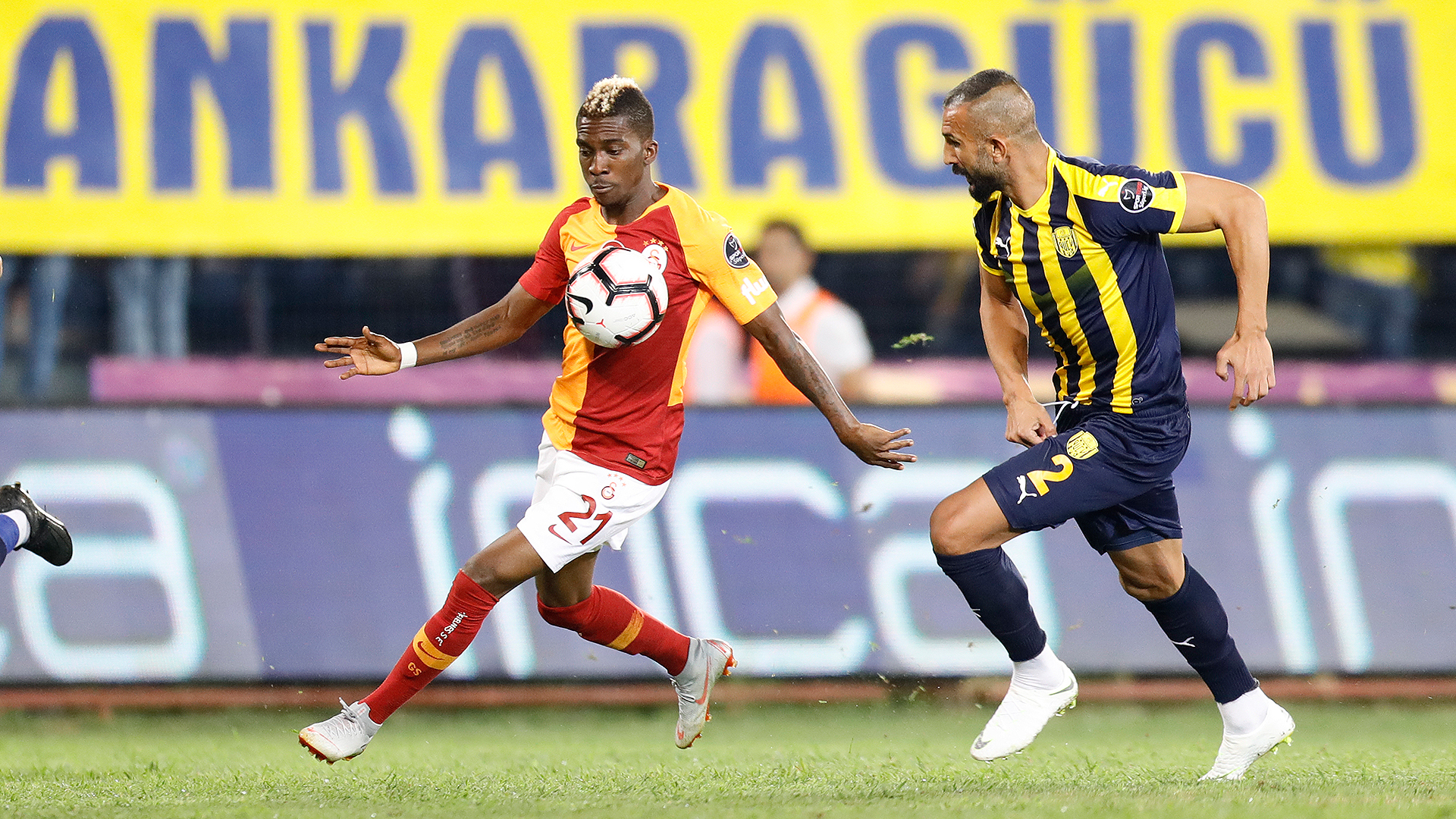 Henry Onyekuru Yalcin Ayhan Ankaragucu Galatasaray 08102018