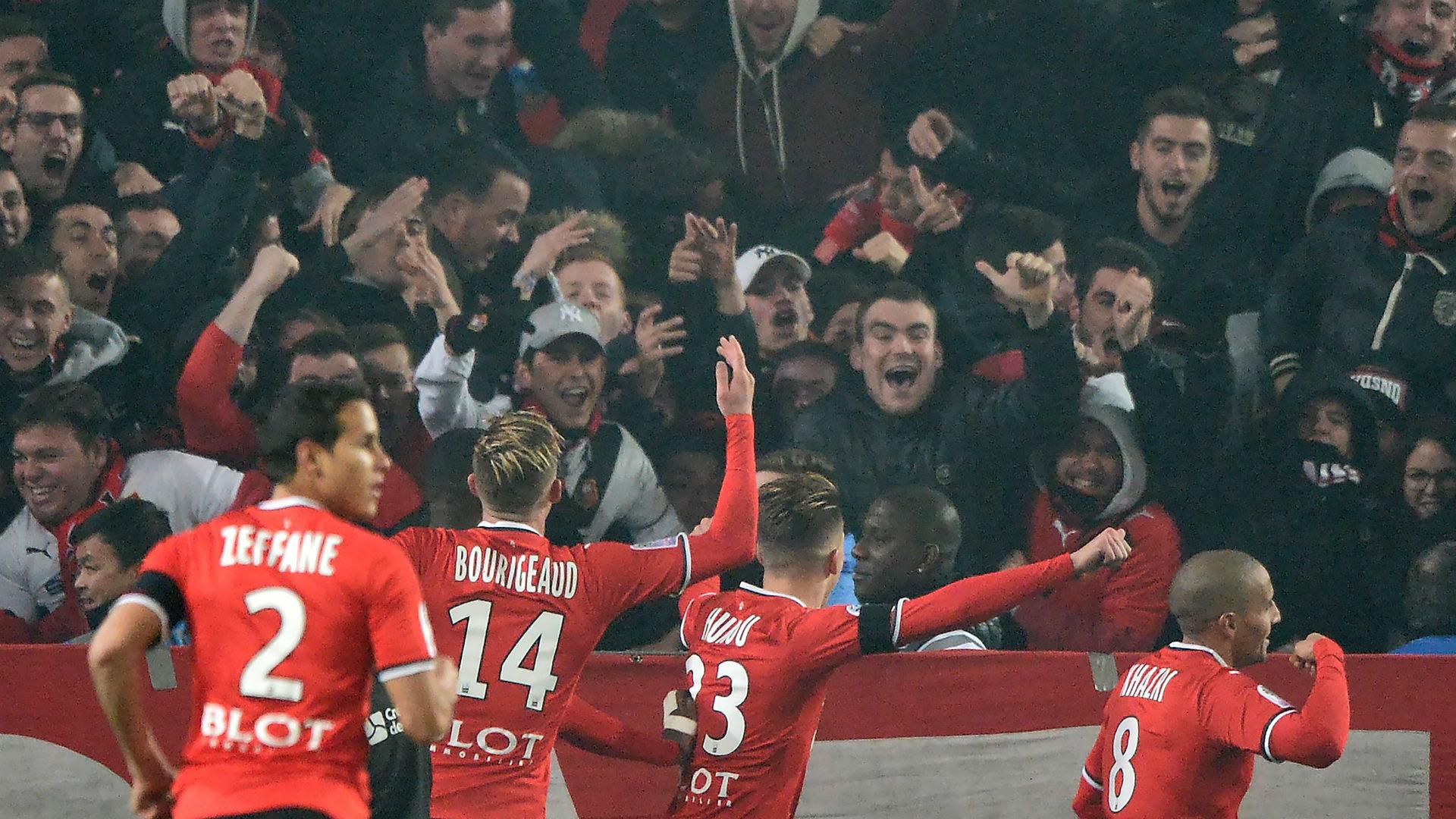 Wahbi Khazri Rennes Nantes Ligue 1 25112017