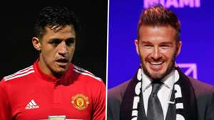 Alexis Sanchez David Beckham