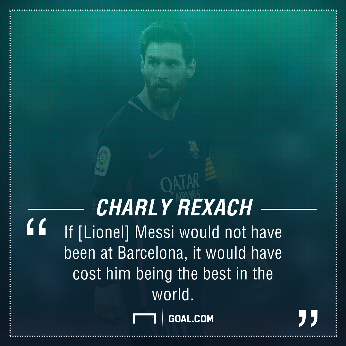 Lionel Messi Charly Rexach
