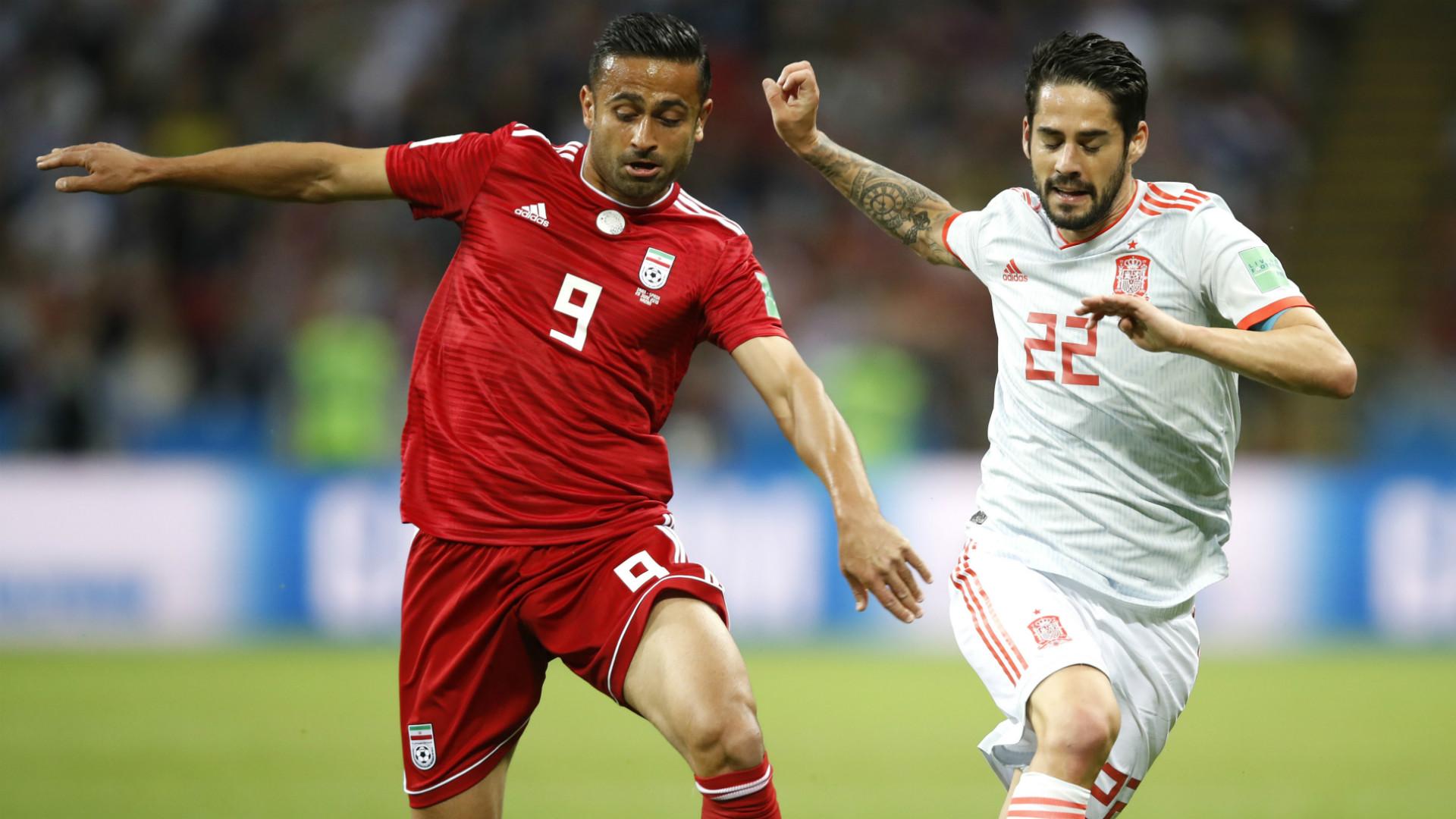 Isco Alarcon Iran Spain World Cup 2018