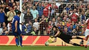Alvaro Morata Petr Cech penalty Arsenal Chelsea ICC 2018