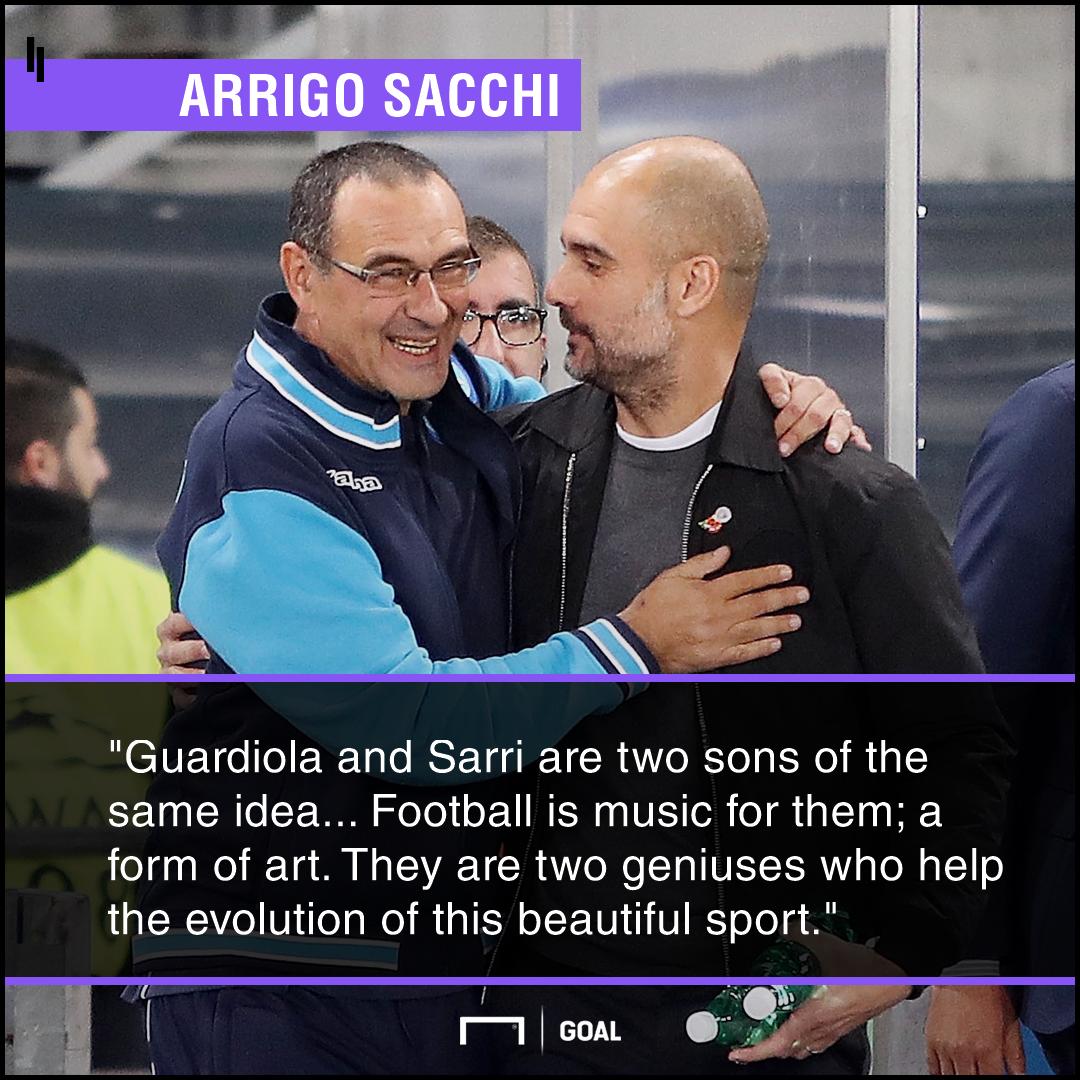 Sacchi Sarri Guardiola PS