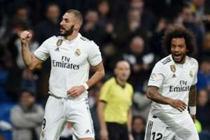 BENZEMA MARCELO REAL MADRID RAYO VALLECANO LALIGA